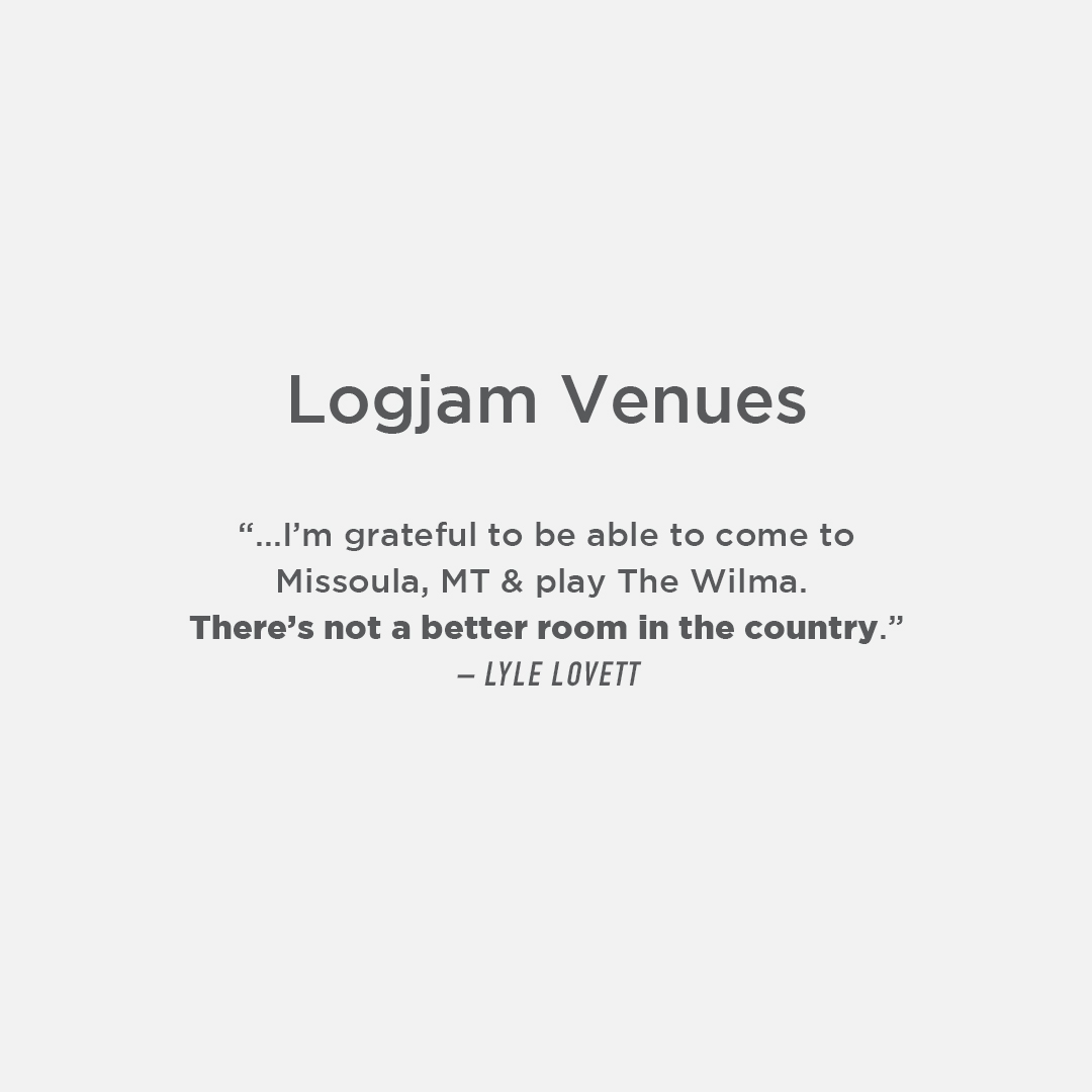 Logjam Presents signature venues