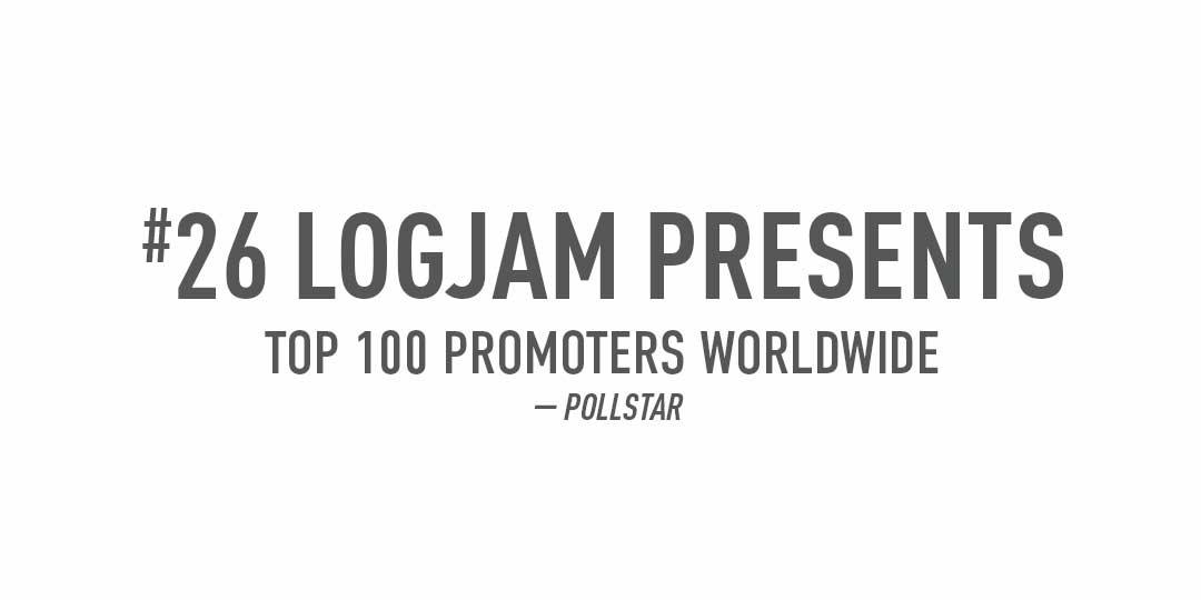 logjam presents pollstar ranking